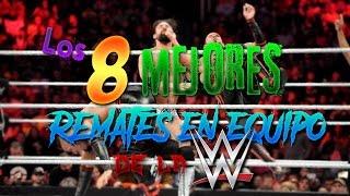 Los 8 Mejores remates en equipo de la WWE