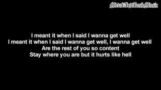 Icon For Hire - Get Well | Lyrics on screen | HD