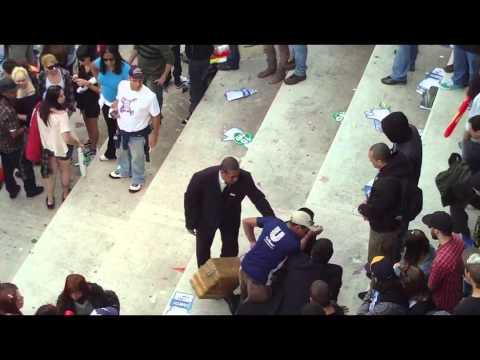 Briga Mega Rampa 2011 entre vendedor e seguranças