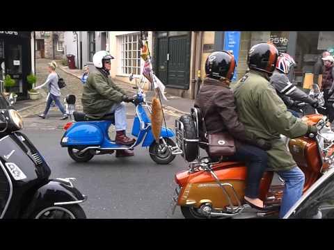 Clitheroe Scooter Run 27 09 2014. Lambretta. Vespa. Mod Weekender