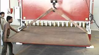 6 meter length Hydraulic press brake machine (Purvaj Engineers) .VOB