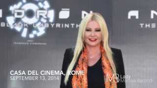Monika Bacardi attends the press conference for 'Andron: The Black Labyrinth'