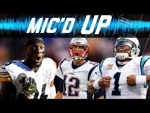Best Mic d Up Sounds of the 2017 Season Trash Talk Fails Celebrations & More NFL Sound FX