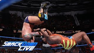 The New Day vs. SAnitY - Six-Man Tag Team Match: SmackDown LIVE, Aug. 14, 2018