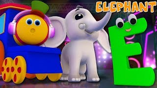 Phonics Letter E | ABC Videos For Kids | Alphabets Rhyme | Toddlers Songs | Learning street with Bob