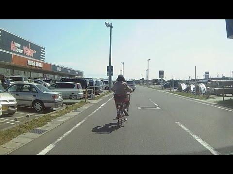 恐怖の自転車BBAw