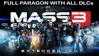 Mass Effect 3 All Cutscenes (Game Movie) Full Story Complete Paragon Edition with ALL DLCs