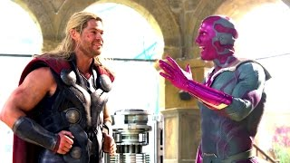 Avengers: Age of Ultron Blu-Ray Feature - Becoming Vision (HD) Paul Bettany Marvel Movie 2015