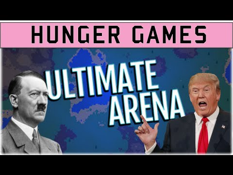Hunger Games Simulator! - Ultimate Arena gameplay, Hitler vs Trump!
