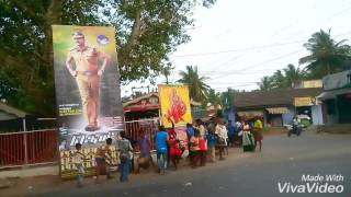 Theri Celebiration Vijay Fans Velanthavalam
