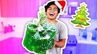 DIY CHRISTMAS TREE MOUNTAIN!