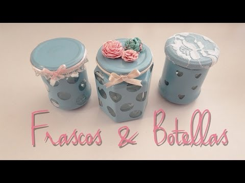 Decora frascos & botellas ♥
