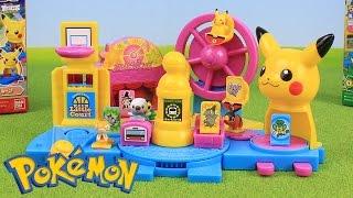 Pokemon Nimbasa City Toys 5 Packs Unboxing Opening