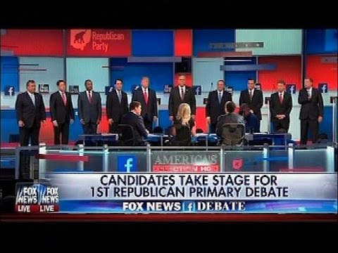 First Republican Primary Debate 8.6.15