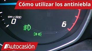 Cómo utilizar las luces antiniebla del coche