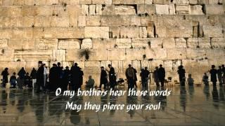 134 Shalom Jerusalem (Paul Wilbur).wmv (With Lyrics)