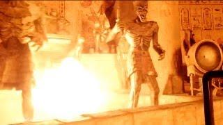 Revenge of the Mummy Front Seat On-Ride POV Universal Studios Orlando Florida