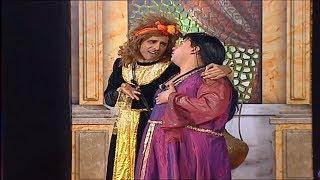 حمدي المرغيني و كريم عفيفي في مشهد كوميدي ... #تياترو_مصر