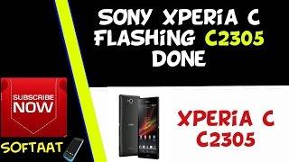 SONY Xperia C c2305 Flashing done By SETOOL Box