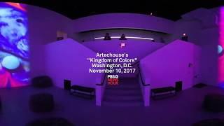 "360: Artechouse ""Kingdom of Colors"""