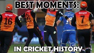 IPL 2014: SRH vs MI All Highlights   Best Moments in History of Cricket