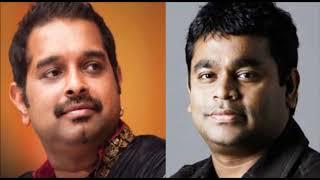 Shankar Mahadevan -AR Rahman songs |Audio jukebox