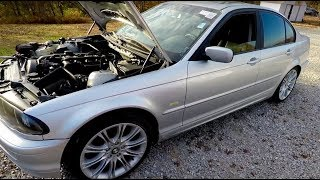 Finally The $243 BMW E46 Is Running And Driving Despite New CCV Issues