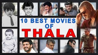 TOP 10 Best Movies of 'THALA' AK 25    Ft. Varun   Countdown   Madras Central