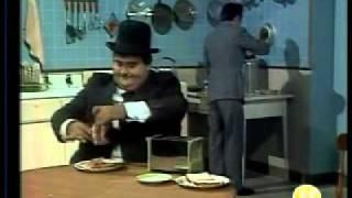Chesprito 1981 - El gordo y el flaco - Los sandwiches (HQ)