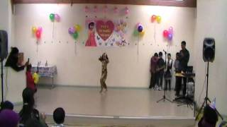 eshal dance with chader meye josna, apnito jaise taise and twist