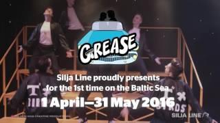 Hit musical Grease® on Silja Line 1 April -31 May 2016!