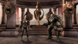 Injustice: Gods Among Us Ultimate Edition Zod Man Of Steel Gameplay Fully Charged Battle