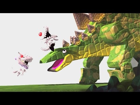 LittleBigPlanet 3 - Attack of the T REX - Mini Indominus Rex Goes To Dinosaur Island
