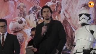  Star Wars: The Force Awakens Japan Premiere red carpet in Tokyo