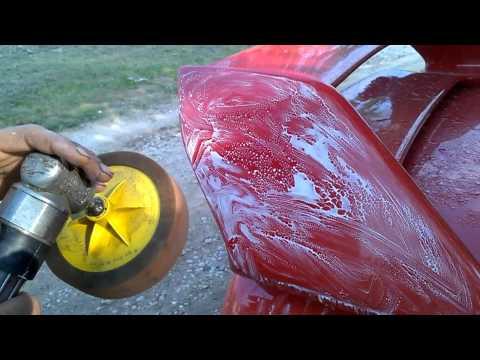 Покраска авто по лаку своими руками 19