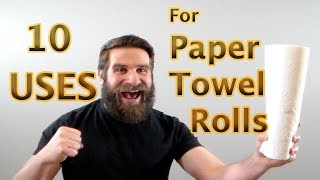 10 Uses for a Roll of Paper Towels