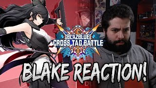 RELEASE DATE??? BLAKE DLC???! | Blazblue Cross Tag Battle Blake Reveal Trailer Reaction!!