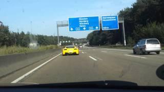 RS4 V8 4.2 Vs Ferrari 458 Italia FullHD 1080p