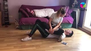 Stomach Sitting Challenge