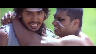 Aindritha behind Prajwal Devraj for Past Life Love | Nannavanu Kannada Movie | Kannada Best Scenes