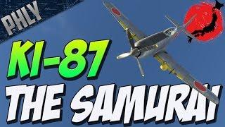 KI-87 - THE SUPER-TURBOCHARGED FIGHTER (War Thunder Plane Gameplay)