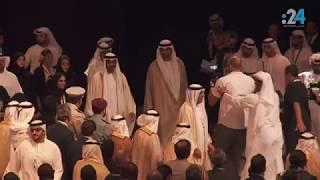 الشيخ محمد بن زايد مفتتحاً القمة العالمية لطاقة المستقبل