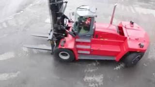 Walk-around Video Of Kalmar´s Heavy Forklift, DCG180-330