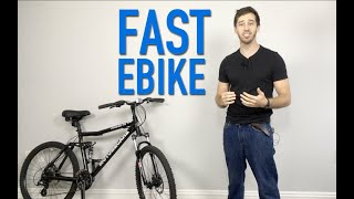 How to build a DIY 40 mph electric bicycle