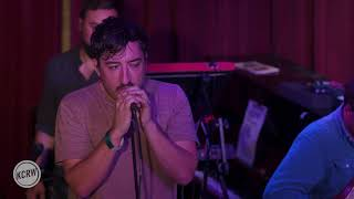"""Grizzly Bear performing """"Three Rings"""" Live on KCRW"""