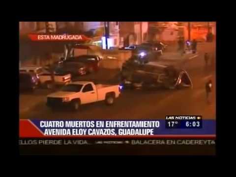 Graban Balacera en Vivo ZETAS vs Militares En Monterrey Nuevo Leon