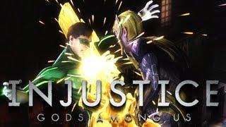 Injustice Gods Among Us #3 w/ SICK - Green Lantern vs Sinestro - Aquaman vs The Flash and Shazam