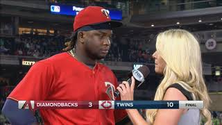 Sano hits 2 home runs, says Twins playing with confidence