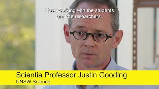 Professor Justin Gooding, WINNER 2017 Eureka Prize for Outstanding Mentor of Young Researchers