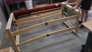 Foldable workbench - Massive space, minimal footprint!